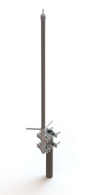 DP662688M-5NF  662 ~ 688 MHz  Omni-Directional Antenna