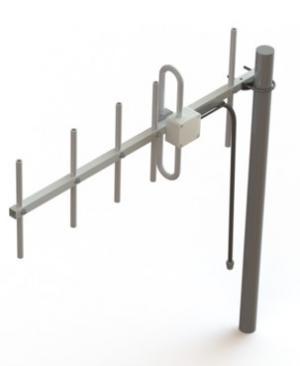 YA470512M-10NF  470-512 MHz  YAGI Directional Antenna