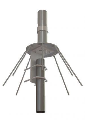 MP225400M-2NFP 225-400 MHz UHF 全頻段全向性天線